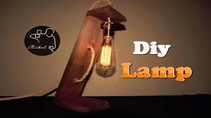 industrial lamp diy very easy youtube
