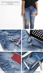 Distressing Diy by Diy Distressed T Shirt And Jeans American Eagle Blog