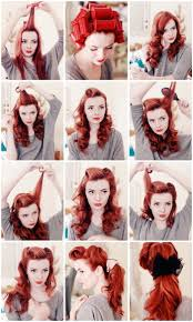 easy vintage hairstyles 7 easy retro hair tutorials from pinterest retro hair retro and