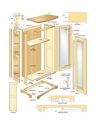 Kitchen Cabinet Diagrams Plans Cabinet Strategies For Do It Yourself Landscaping Shed