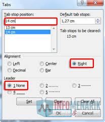 cara membuat garis pada daftar isi makalah dengan cara ini bisa membuat daftar isi otomatis di microsoft office