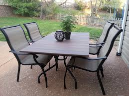 Martha Stewart Patio Table Glass Replacement Old Glass Patio Table Wind Blew Off Deck And Glass Broke Used