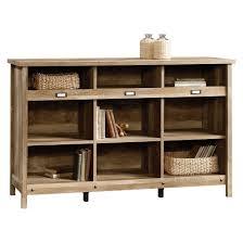 credenza table adept storage credenza craftsman oak sauder target
