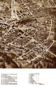 Birds Eye View Maps Springs Ar In 1888 Bird U0027s Eye View Map Aerial Map Panorama