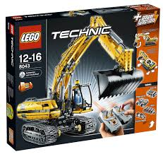 amazon com lego technic 8043 motorized excavator power
