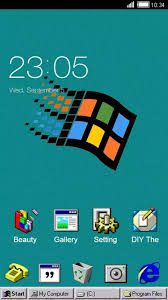 theme download for my pc windroid theme for windows 95 pc computer launcher free android
