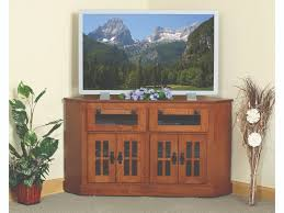 mission style corner tv cabinet corner tv stands greenawalt furniture