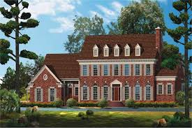 colonial home plans colonial home plan 5 bedrms 3 5 baths 4170 sq ft 137 1522