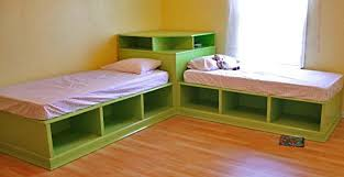 Woodworking Plans For Twin Storage Bed by Ana White Corner Unit For The Twin Storage Bed Diy Projects
