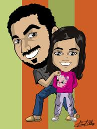 caricatura vectorial personalizada adobe illustrator