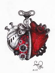 voodoo heart tattoo a clockwork heart by devil urumi deviantart com on deviantart