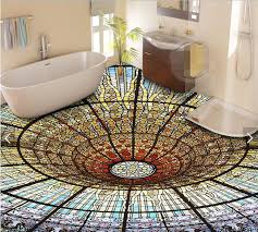 3d bathroom flooring wholesale 3d flooring custom waterproof wallpaper 3 d the dream is
