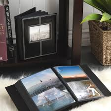 pioneer photo album pioneer photo albums 300 pocket black sewn leatherette frame cover