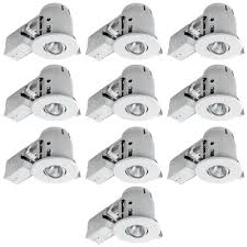 low profile can light housing pot lights recessed lighting kits the home depot canada