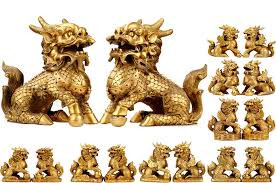 qilin statue statues bronzes chinatown shop