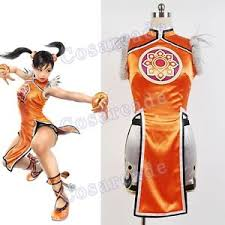 Kung Fu Panda Halloween Costumes Tekken Iron Fist 6 Halloween Cosplay Costume Ling Xiaoyu Kung