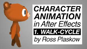 how to make a cartoon character animation after effects