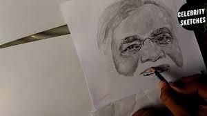 drawing shri narendra modi celebrity sketches youtube