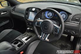 chrysler 300c 2016 interior 2014 chrysler 300 srt8 review track test video performancedrive