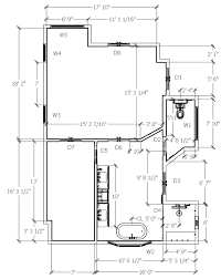 dimensioned floor plan gaston master bath virginia walker