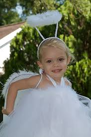 angel tutu dress 05t great for halloween by avabellescloset