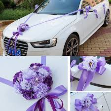 wedding car decorations wedding car ribbon married car decorations bridal car decoration