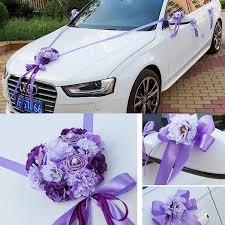 wedding car decorations wedding car ribbon married car decorations bridal car decoration