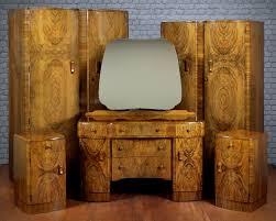 art deco walnut bedroom suite c 1930 369650 sellingantiques co uk