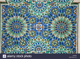 an example of the beautiful zellij moroccan style tilework can