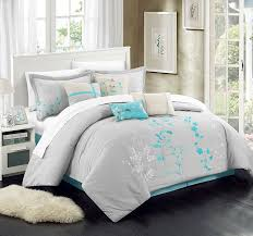 Turquoise Chevron Duvet Cover Delboutree Charcoal Gray Turquoise Bedding Sets Sale U2013 Ease