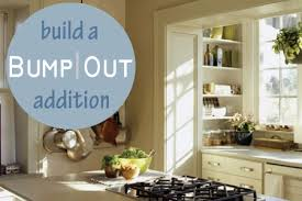 kitchen addition ideas bump out additions small spaces big impact