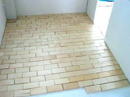 Floor Tile Installers Awesome Floor Tile That Looks Like Brick Brick Look Kitchen Tile