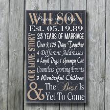 50th anniversary plate personalized personalized 5th 15th 25th 50th anniversary gift wedding