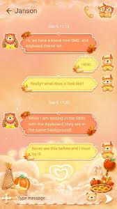 free go sms thanksgiving theme android apps on play