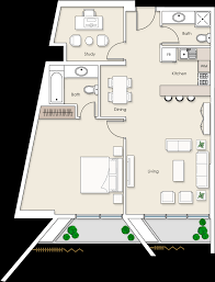 The O2 Floor Plan by Platinum Residence Luxury Apartments In Jumeirah Village Circle