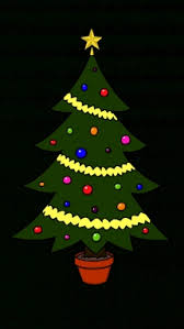 how to draw christmas tree christmas holidays easy step by step