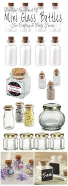 where to buy party favors where to buy mini glass bottles for crafting and party favors