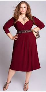 very chic plus size dress this dress is very nice just my style