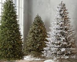 pre lit trees artificial the home depot