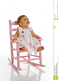 Baby Rocking Chair Baby In Rocking Chair Stock Photo Image 16096220