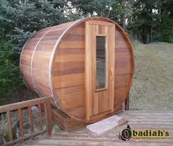 northern lights sauna parts northern lights outdoor cedar barrel sauna by obadiah s woodstoves