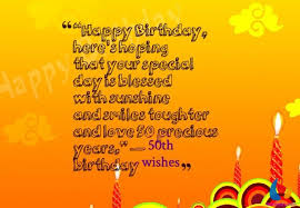 16 awesome 50th birthday wishes and messages with images