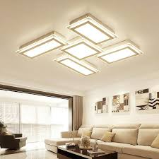 Bedroom Led Ceiling Lights Diy Ceiling Light Fixtures White Creative Geometry Led Ceiling