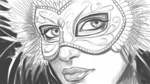 white mardi gras mask how to draw a with a mardi gras mask part 1 of 2