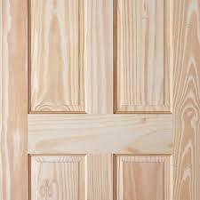 Pine 6 Panel Interior Doors 6 Panel Pine Door With Raised U0026 Fielded Panels