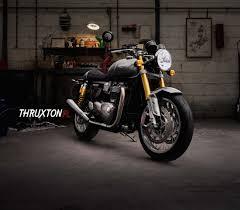 thruxton range triumph motorcycles