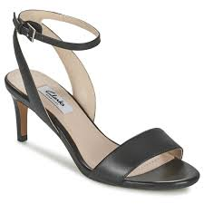 clarks amali jewel black free delivery with rubbersole co uk