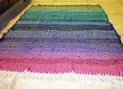 weaving a rag rug roselawnlutheran