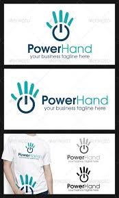 power hand logo template humans logo templates logo u0027s
