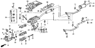 honda online store 1996 odyssey exhaust pipe parts